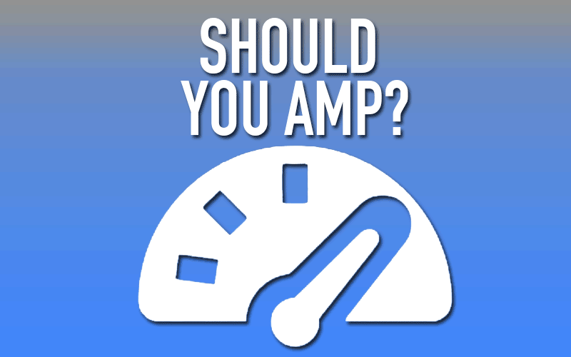 The What, Why, How, and Who on Accelerated Mobile Pages (AMP)